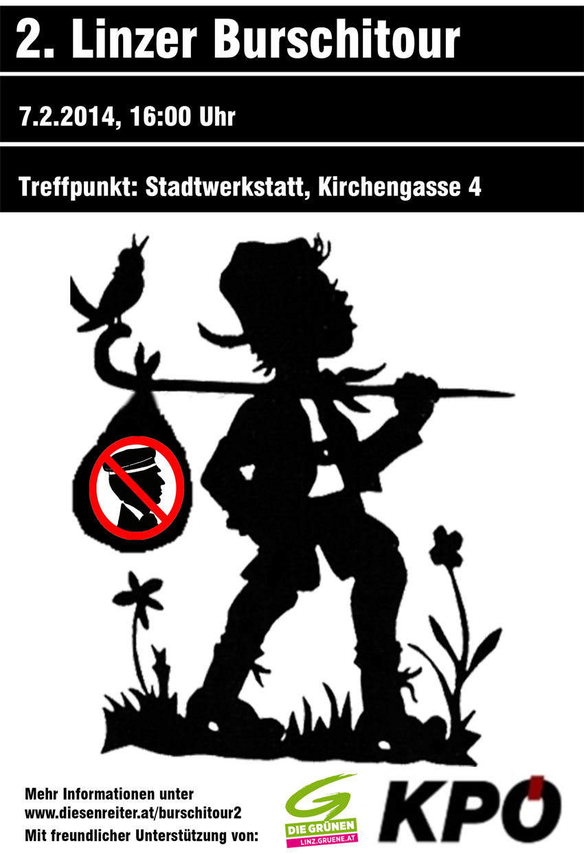Burschitour-Linz-Flyer