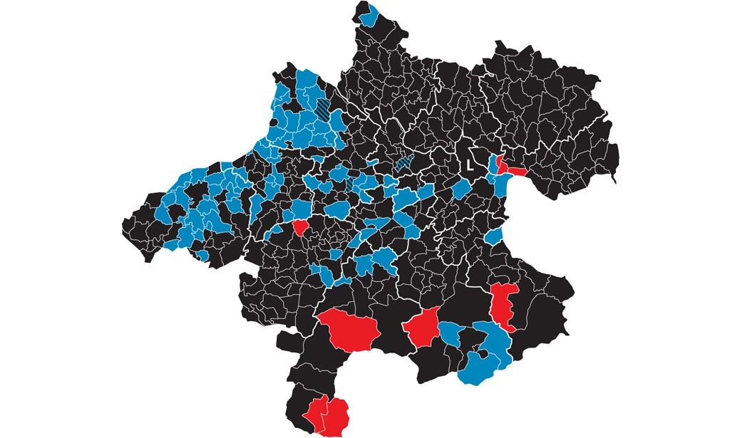 Oberösterreich Wahl Ergebnis Sprengel