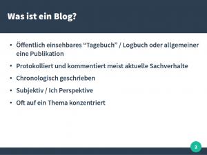 Vortrag JKU Blogs in der Politik 2016 Thomas Diesenreiter 02