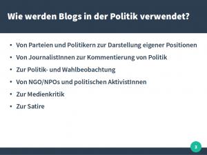 Vortrag JKU Blogs in der Politik 2016 Thomas Diesenreiter 03