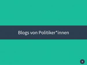 Vortrag JKU Blogs in der Politik 2016 Thomas Diesenreiter 05
